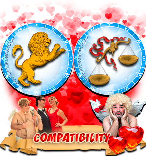 Love Compatibility Horoscope for Combination of Leo and Libra Zodiac signs