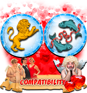 Love Compatibility Horoscope for Combination of Leo and Pisces Zodiac signs