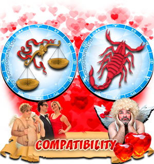 Love Compatibility Horoscope for Combination of Libra and Scorpio Zodiac signs
