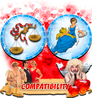 Love Compatibility Horoscope for Combination of Libra and Virgo Zodiac signs