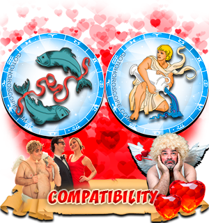 Love Compatibility Horoscope for Combination of Pisces and Aquarius Zodiac signs