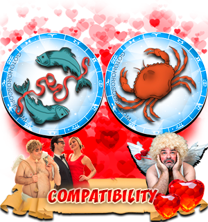 Love Compatibility Horoscope for Combination of Pisces and Cancer Zodiac signs