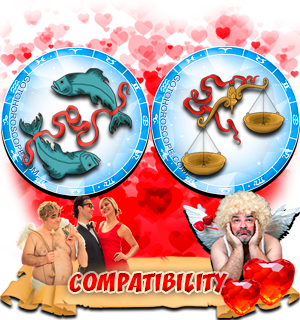 Love Compatibility Horoscope for Combination of Pisces and Libra Zodiac signs