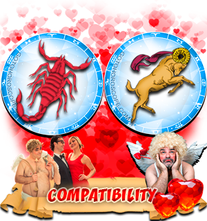 Love Compatibility Horoscope for Combination of Scorpio and Aries Zodiac signs
