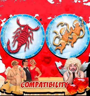 Love Compatibility Horoscope for Combination of Scorpio and Gemini Zodiac signs