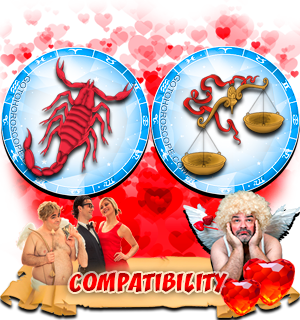 Love Compatibility Horoscope for Combination of Scorpio and Libra Zodiac signs