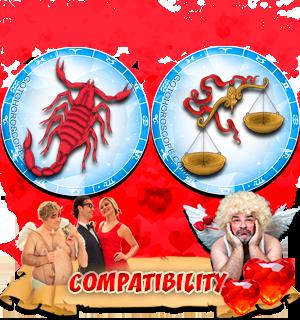 Love Compatibility Horoscope for Combination of Scorpio and Libra Zodiac signs