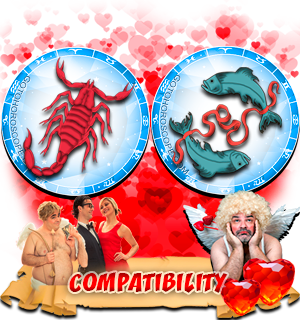Love Compatibility Horoscope for Combination of Scorpio and Pisces Zodiac signs