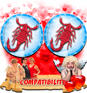 Love Compatibility Horoscope for Combination of Scorpio and Scorpio Zodiac signs