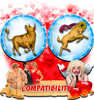 Love Compatibility Horoscope for Combination of Taurus and Aries Zodiac signs