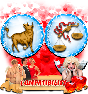 Love Compatibility Horoscope for Combination of Taurus and Libra Zodiac signs