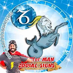 Capricorn Man zodiac sign's characteristics image