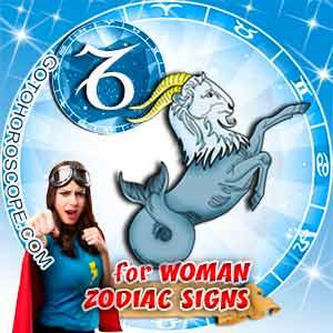 Capricorn Woman zodiac sign's characteristics image