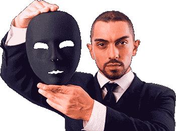Zodiac Signs Personality Mask Man