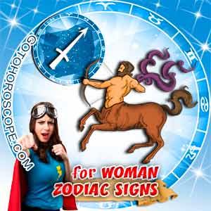 Sagittarius Woman zodiac sign's characteristics image
