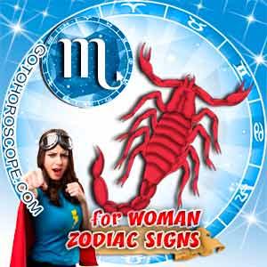 Scorpio Woman zodiac sign's characteristics image