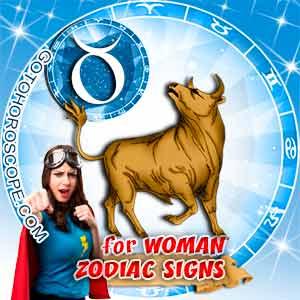 Taurus Woman zodiac sign's characteristics image