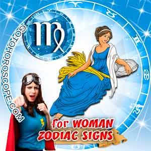 Virgo Woman zodiac sign's characteristics image